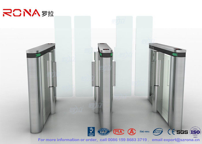 Durable Speed Gate Turnstile Pedestrian Management Automated Systems Long Lifespan