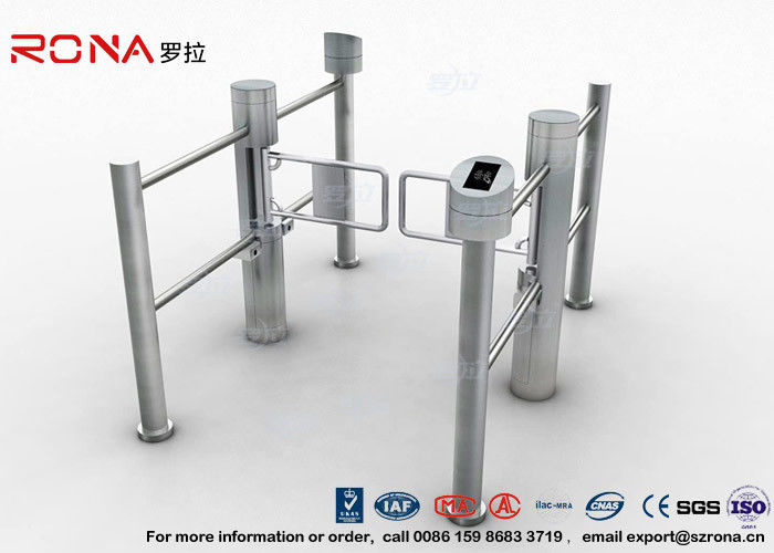 Club Portable Swing Barrier Gate Mechanism Electronic With Direction Indicator CE Approved