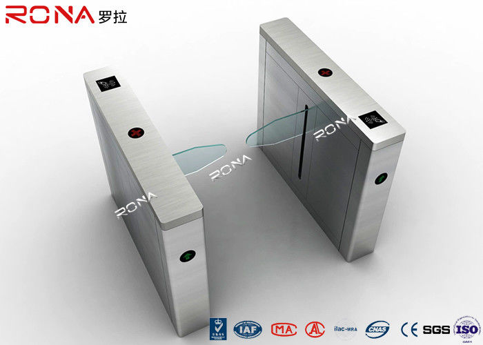 Laser Cut One Armed Turnstile Security Systems 1 Second Opening / Closing Time
