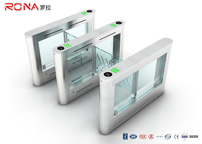 Fast Speed Security Swing Turnstile Barrier Gate Remote Control System For Handicap