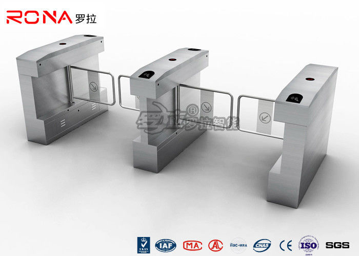 Automatic Swing Gate , Access Control Turnstile Gate For Park/Musem with RFID Card